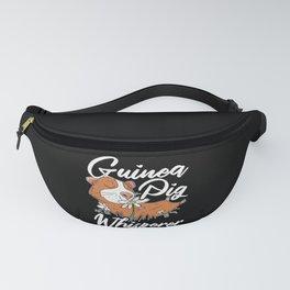 Guinea Pig Whisperer Rodent Pet Lover Wheek Cavy Fanny Pack