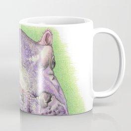 Purple Hippo Coffee Mug