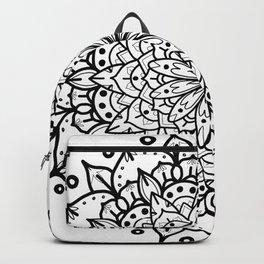 MONOCHROME MANDALA Backpack