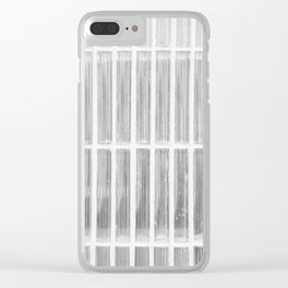 Estudio sobre blanco (las raicillas del presidio). Clear iPhone Case