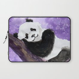 Panda bear sleeping Laptop Sleeve