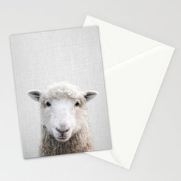 Sheep - Colorful Stationery Cards