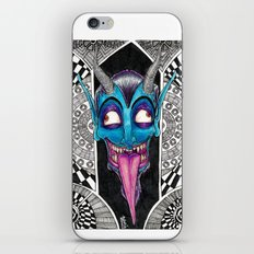 Blue Demon iPhone & iPod Skin