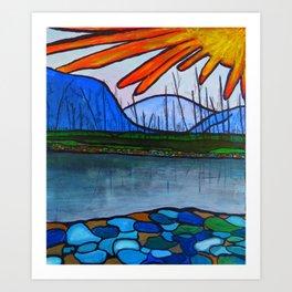 Kettle Valley Watershed Art Print
