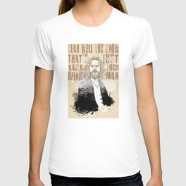 The Dude, The Big Lebowski Quote  T-shirt