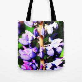Lupine close up Tote Bag