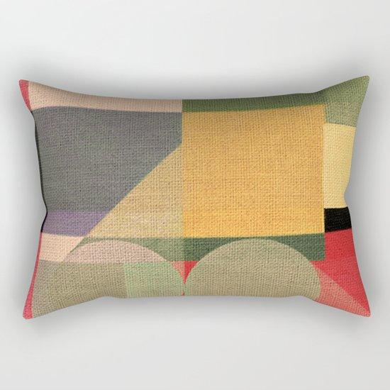 Railroad Train Rectangular Pillow