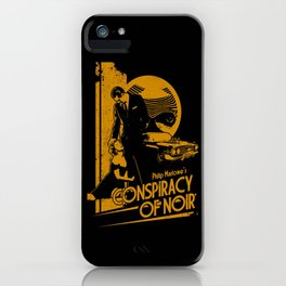 CONSPIRACY OF NOIR iPhone Case