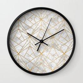 Art Deco over Stone II Wall Clock