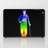 chaplin iPad Cases featuring Chaplin by PsychoBudgie