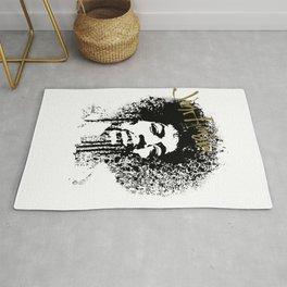 Jimi Hendrix / ink Rug