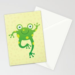 Sweet Baby Frog Stationery Cards