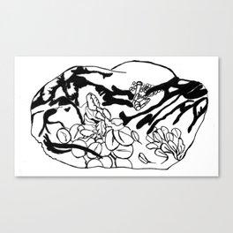 Raisin Mindfulness Canvas Print