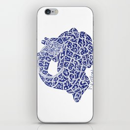 Dormiens Zarafah: The Sleeping Giraffe iPhone Skin