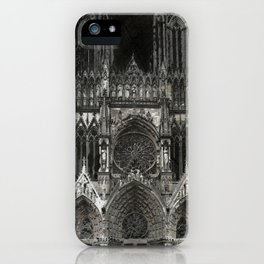 Cathedral Black iPhone Case