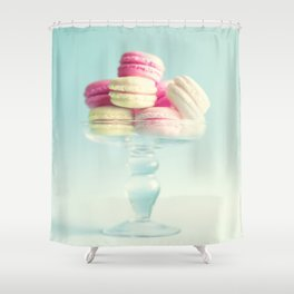 Macarons, macaroons, pop art II Shower Curtain