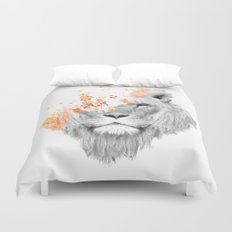 If I roar (The King Lion) Duvet Cover