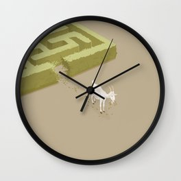 Do you solve problems by using logic or instinct? Wall Clock