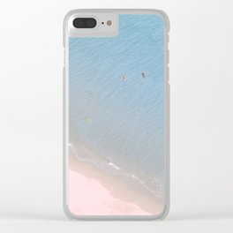 """Ocean dreams"". At the paradise Clear iPhone Case"