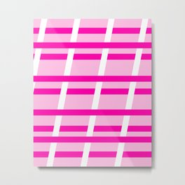 Unparalled - Pink Metal Print