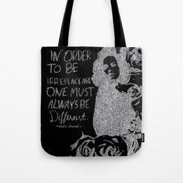 irreplaceaple Tote Bag