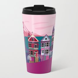 San FranciscoPainted Ladies and Golden Gate Travel Mug
