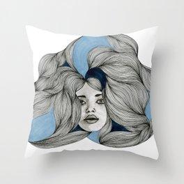 Drawing No.4  Throw Pillow