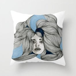 Drawing No.4  Throw Pillow