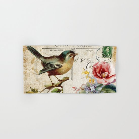 Sweet bird #2 Hand & Bath Towel