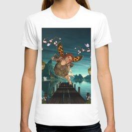 Cute flying fairy T-shirt
