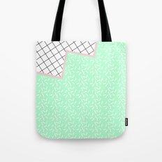 MEMPHIS GREEN Tote Bag