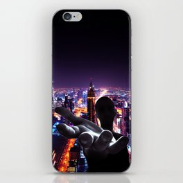 The wolrd is Yours iPhone Skin