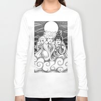 sisters Long Sleeve T-shirts featuring Sisters!  by Danadu