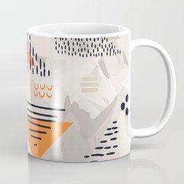 Abstract geometric shapes 03 Coffee Mug
