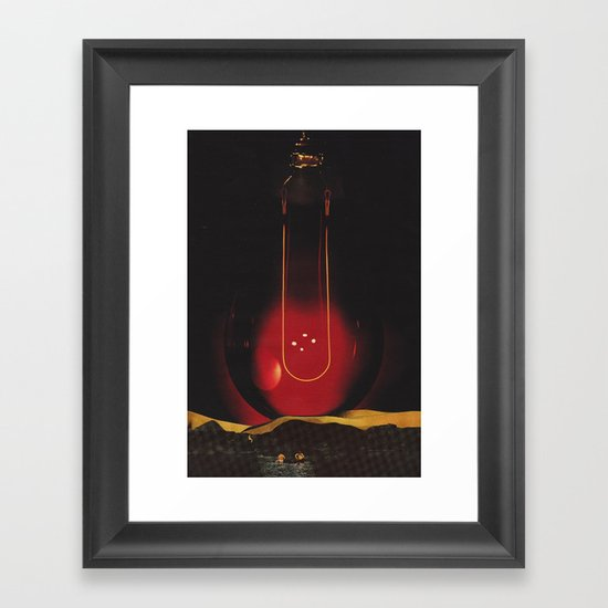 impact - (swing) Framed Art Print
