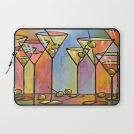 Martini Bar ... Abstract alcohol lounge bar kitchen art Laptop Sleeve