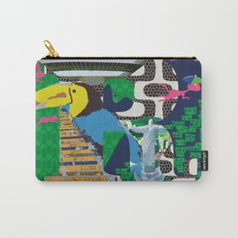 Mews in Rio de Janeiro (Typography) Carry-All Pouch