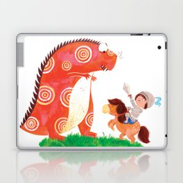 Knight vs Monster Laptop & iPad Skin