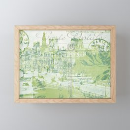 springtime in Paris Framed Mini Art Print