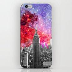NEBULA NEW YORK iPhone Skin