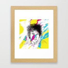The Sun's Not Yellow Framed Art Print