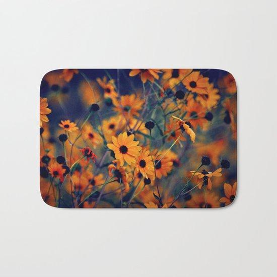 Prairie Flowers  Bath Mat