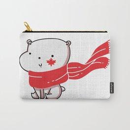 Canadian Polar Bear Carry-All Pouch