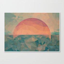 Tycho Sunrise Canvas Print