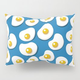 Fried eggs food pattern Pillow Sham