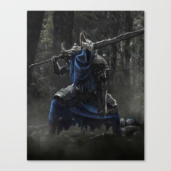 Artorias (Dark Souls fanart) Canvas Print