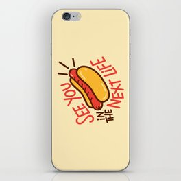 Eternal Hot Dog iPhone Skin