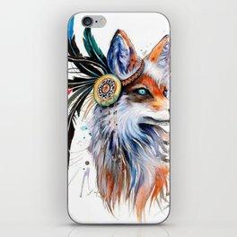 Colorful Fox iPhone Skin