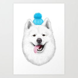 Samoyed Art Print
