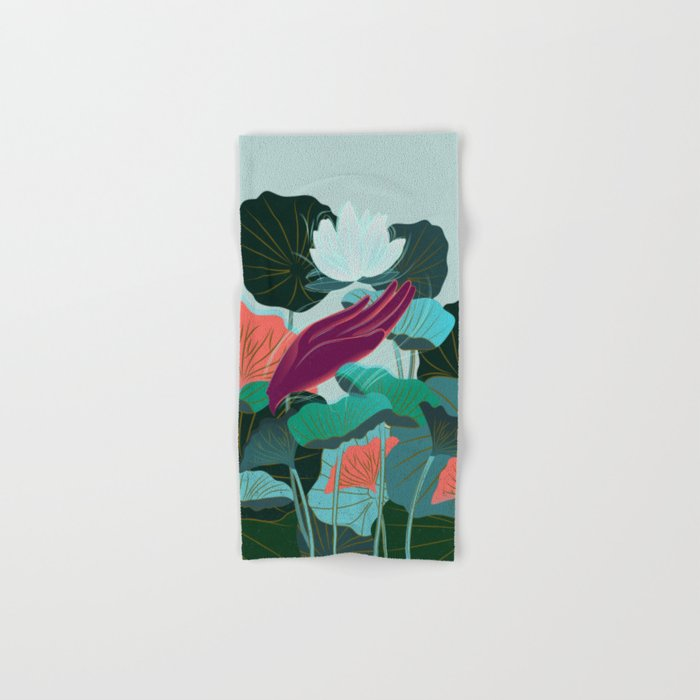 Lotus Magic: 05 Hand & Bath Towel